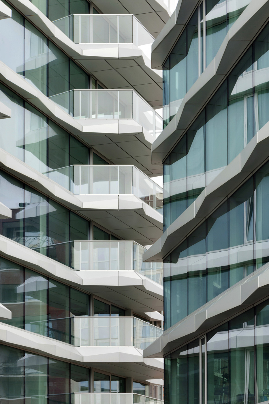E Tower in Eindhoven, the Netherlands by Wiel Arets Architects; Photo: Jan Bitter