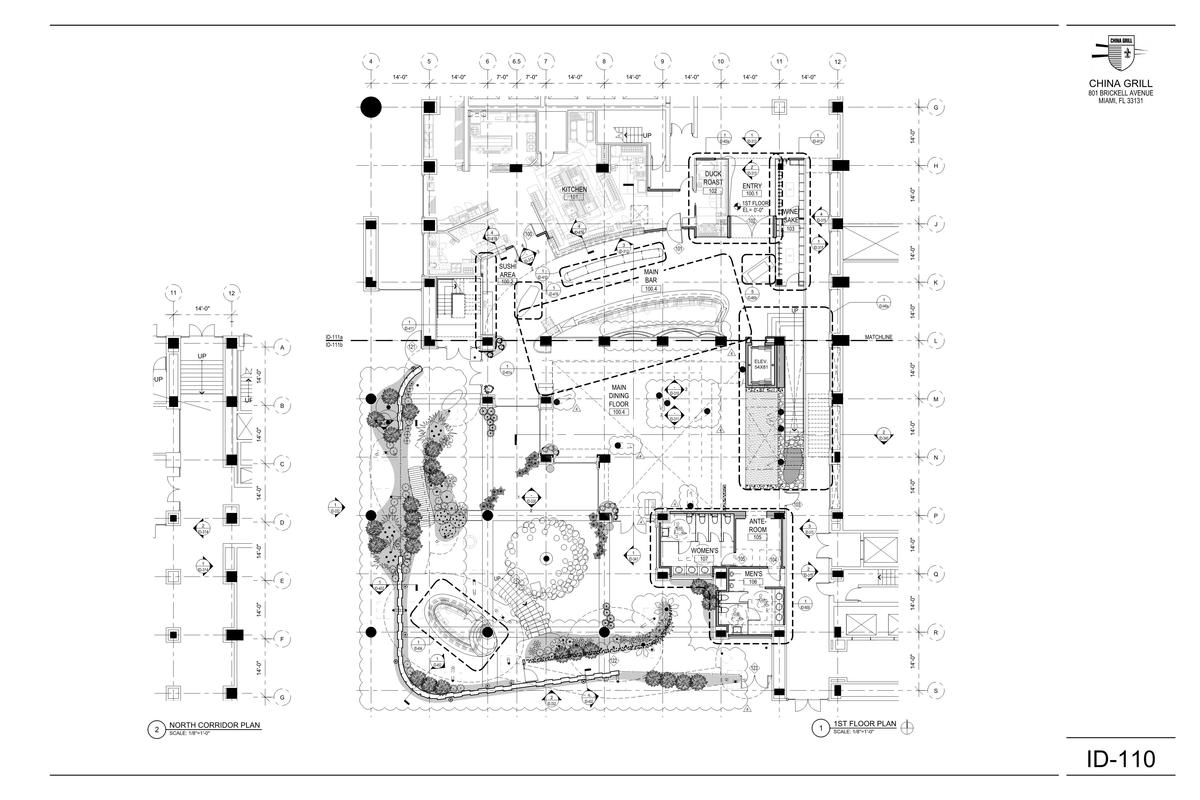 Ground Floor Plan - Interior & Garden