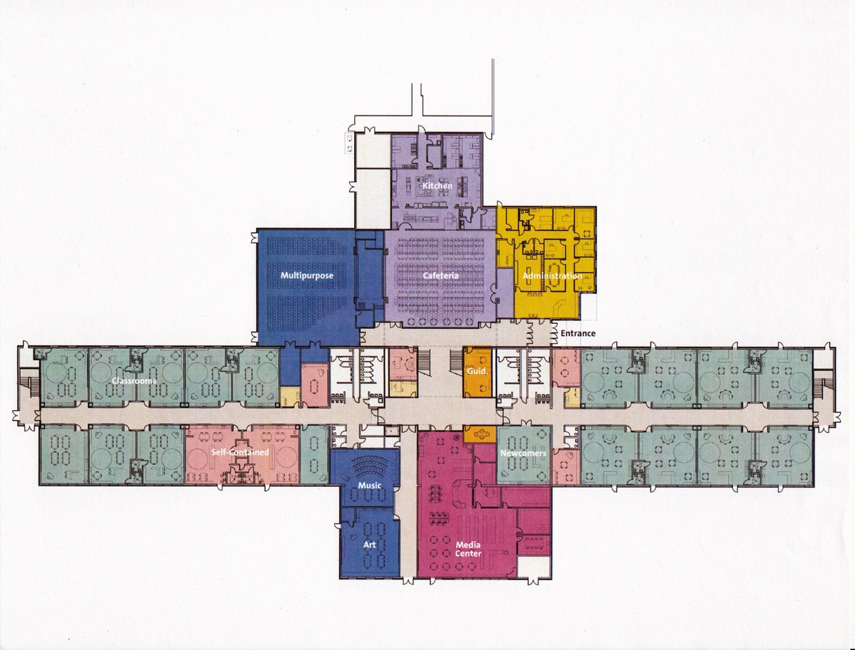 floor plan of a middle trend home design and decor
