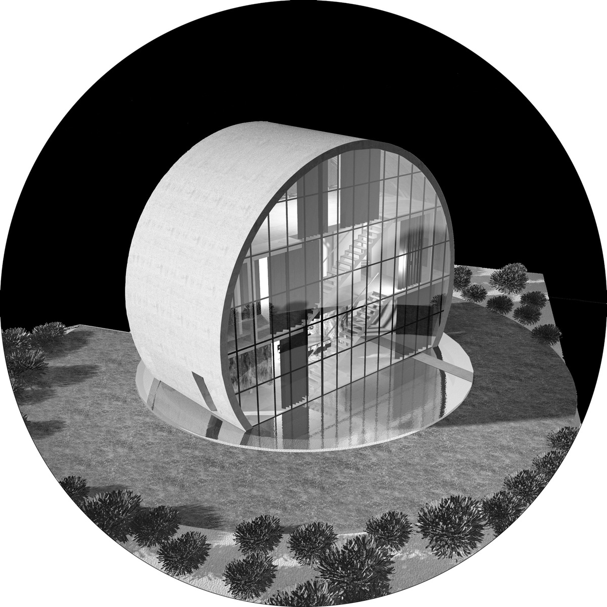 Axonometric of Eclipse, the owners choice. Image: A2.0 Studio di Architettura
