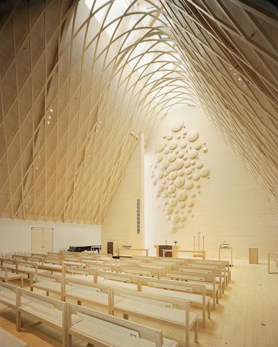 Kuokkala Church by Lassila Hirvilammi via Mark Vanden Akker.