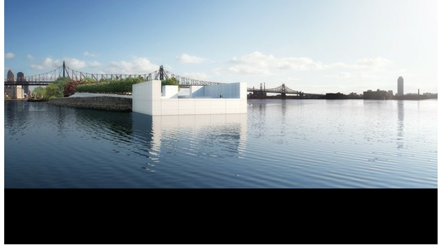 Courtesy of Franklin D. Roosevelt Four Freedoms Park, LLC; Digital Rendering: Christopher Shelley