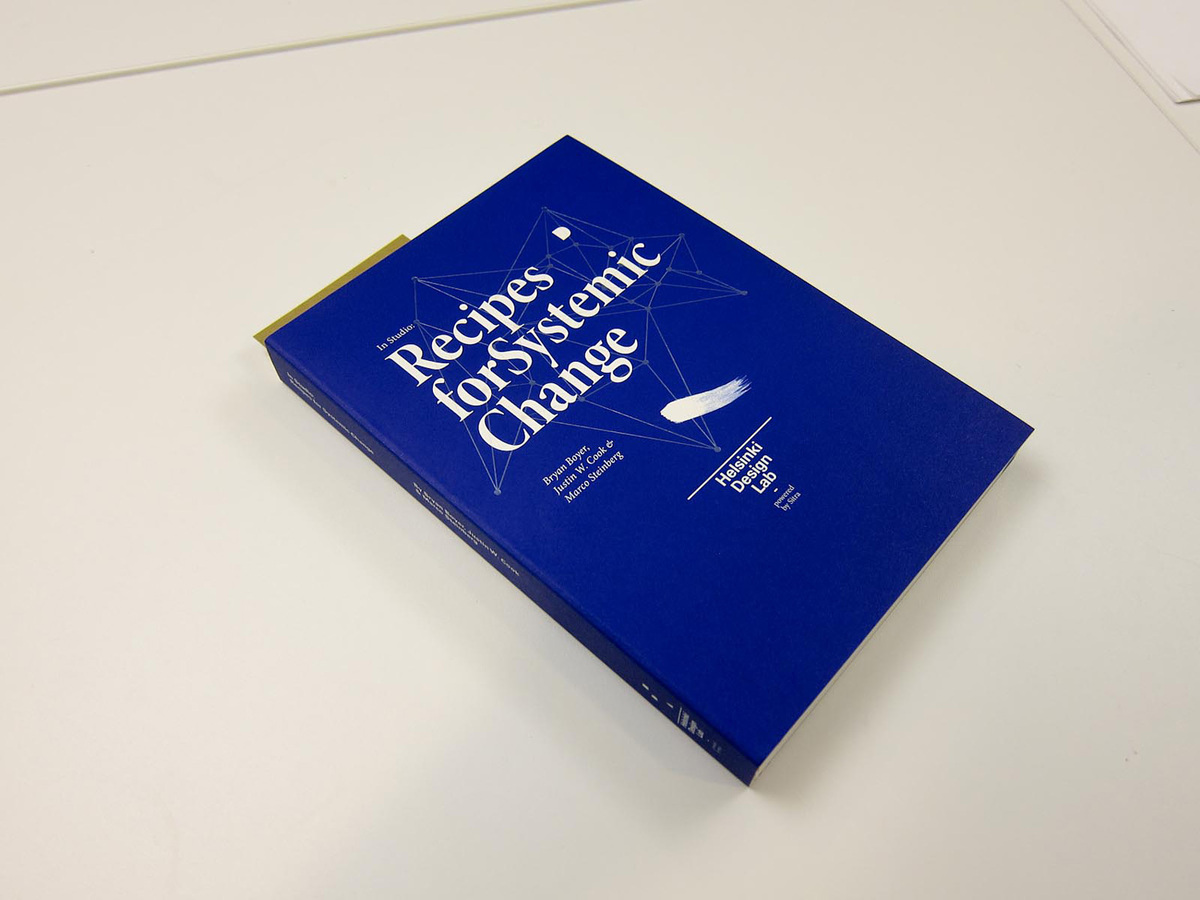 In Studio: Recipes for Systemic Change describes a series of design studios HDL led with a mix of government clients. (http://www.helsinkidesignlab.org/pages/studio-book)