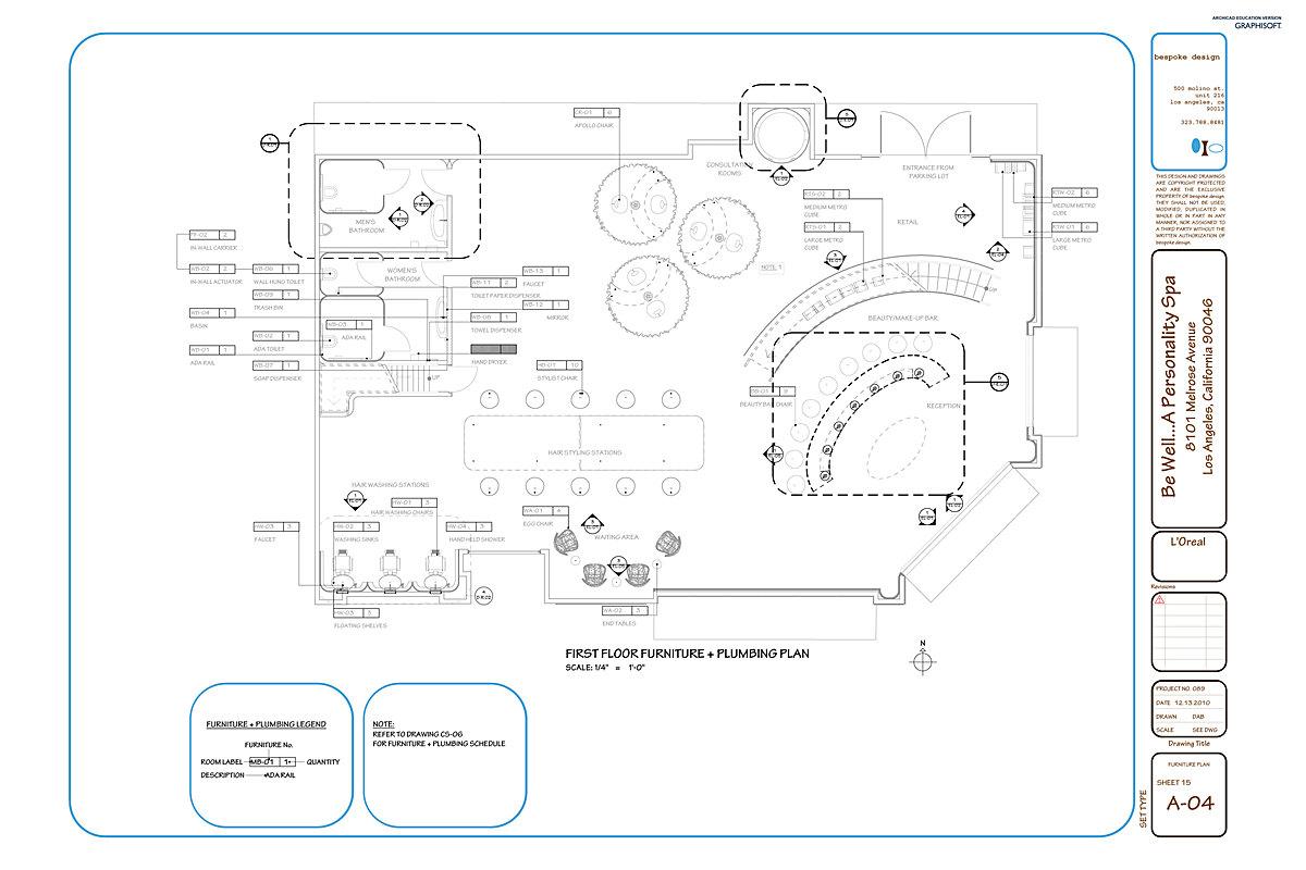 A-04 Furniture Plan