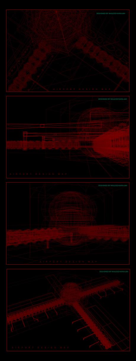 Airport design maps via Waleed Karajah