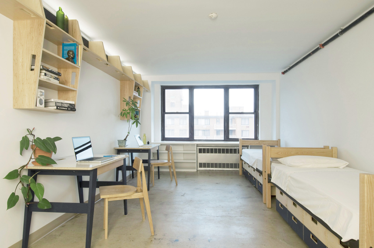 Green dorm in pratt institute viviana wang archinect for The institute of interior design