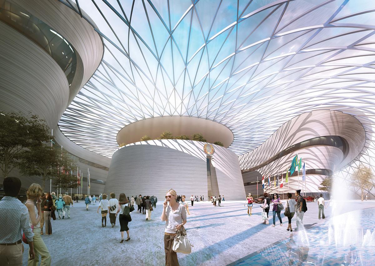 Conference Center. Image © Adrian Smith + Gordon Gill Architecture