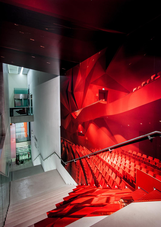 UNStudios Motion Matters at the MAXXI Museum. Photo © Cesare Querci