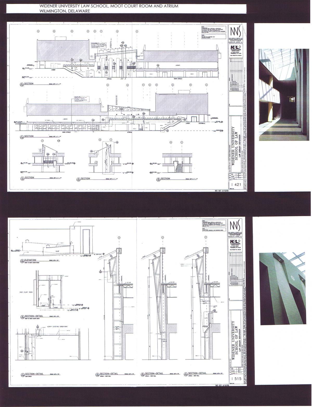 Atrium Elevations and Details