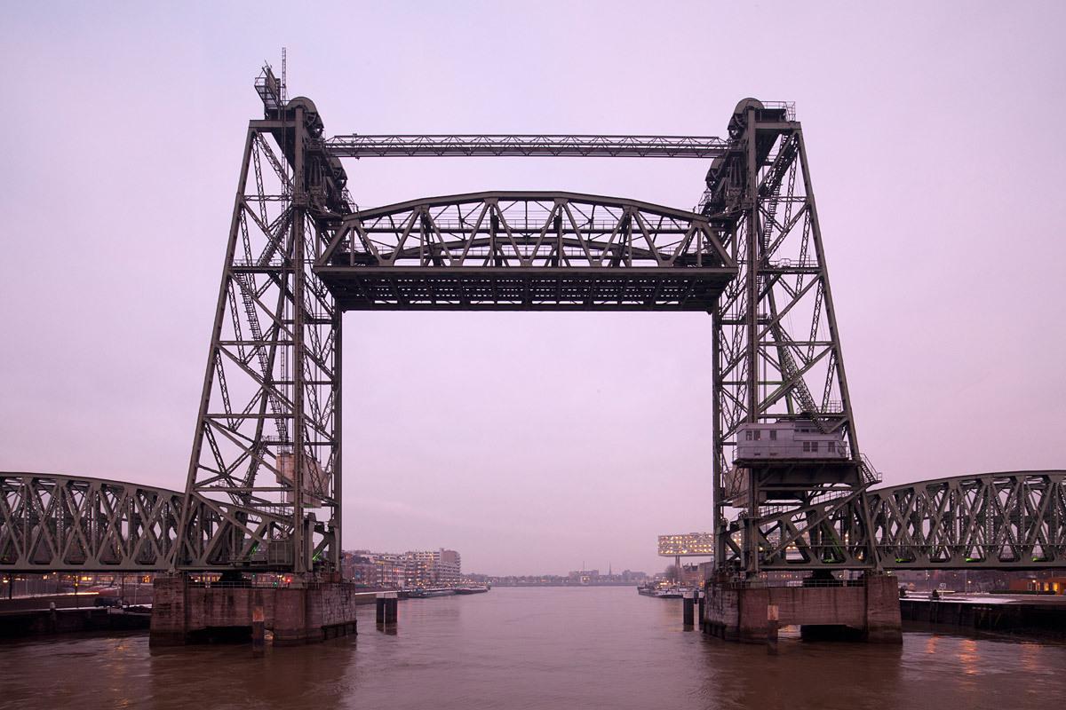 HEF Bridge, 1927, Rotterdam. This photo was taken for Rotterdam Marketing. © Ossip van Duivenbode
