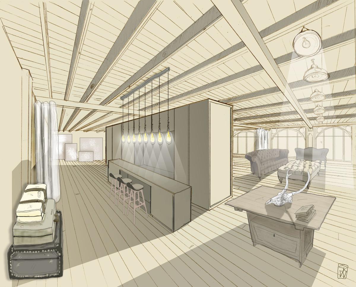 Manhattan Loft Light Study