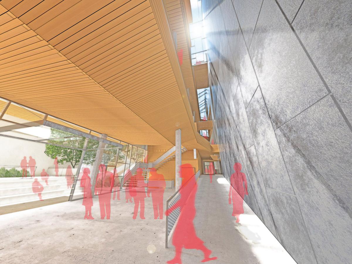 Interior Void/Theater Lobby