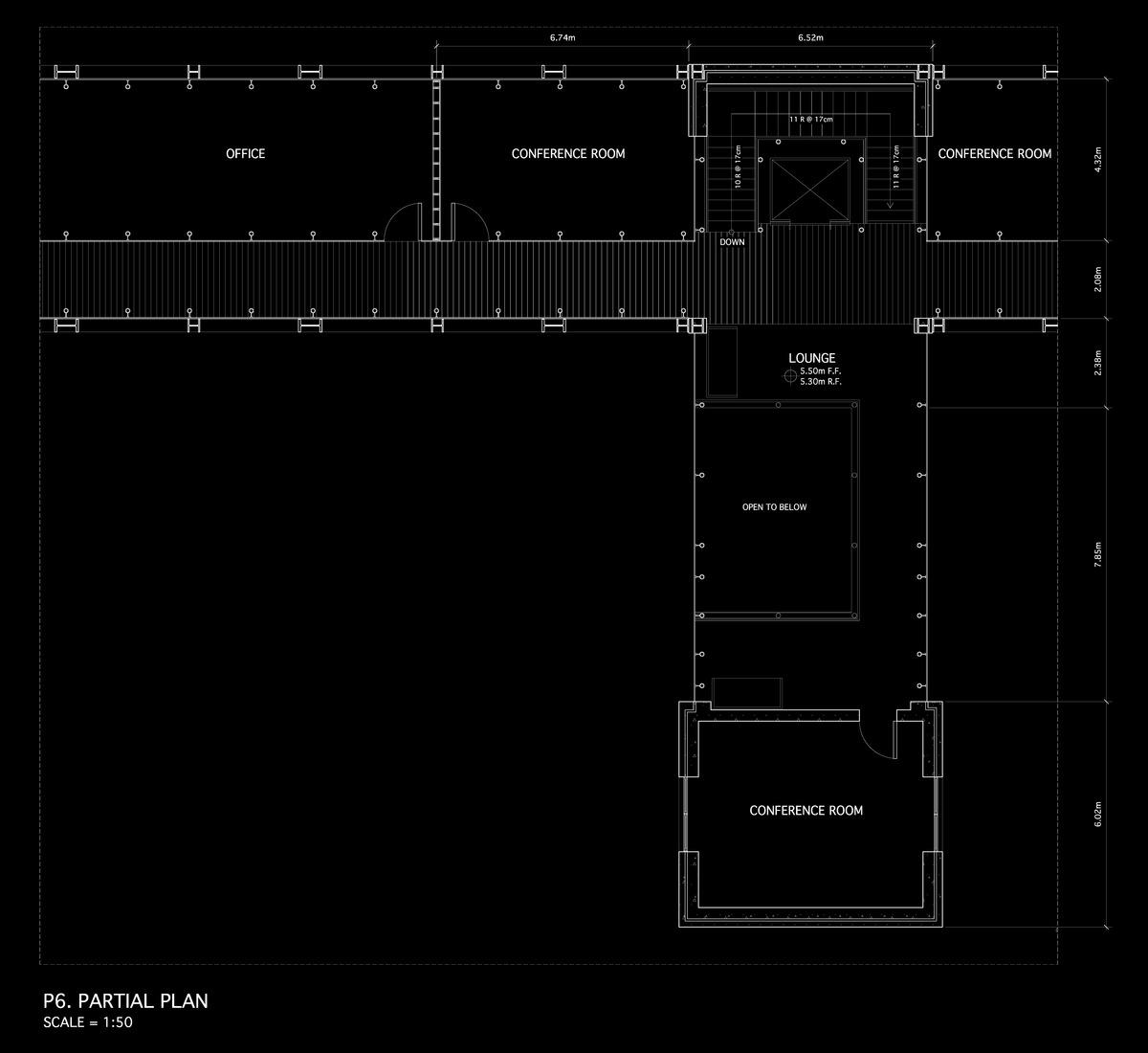 1:50 First Floor Plan (2nd Floor US)