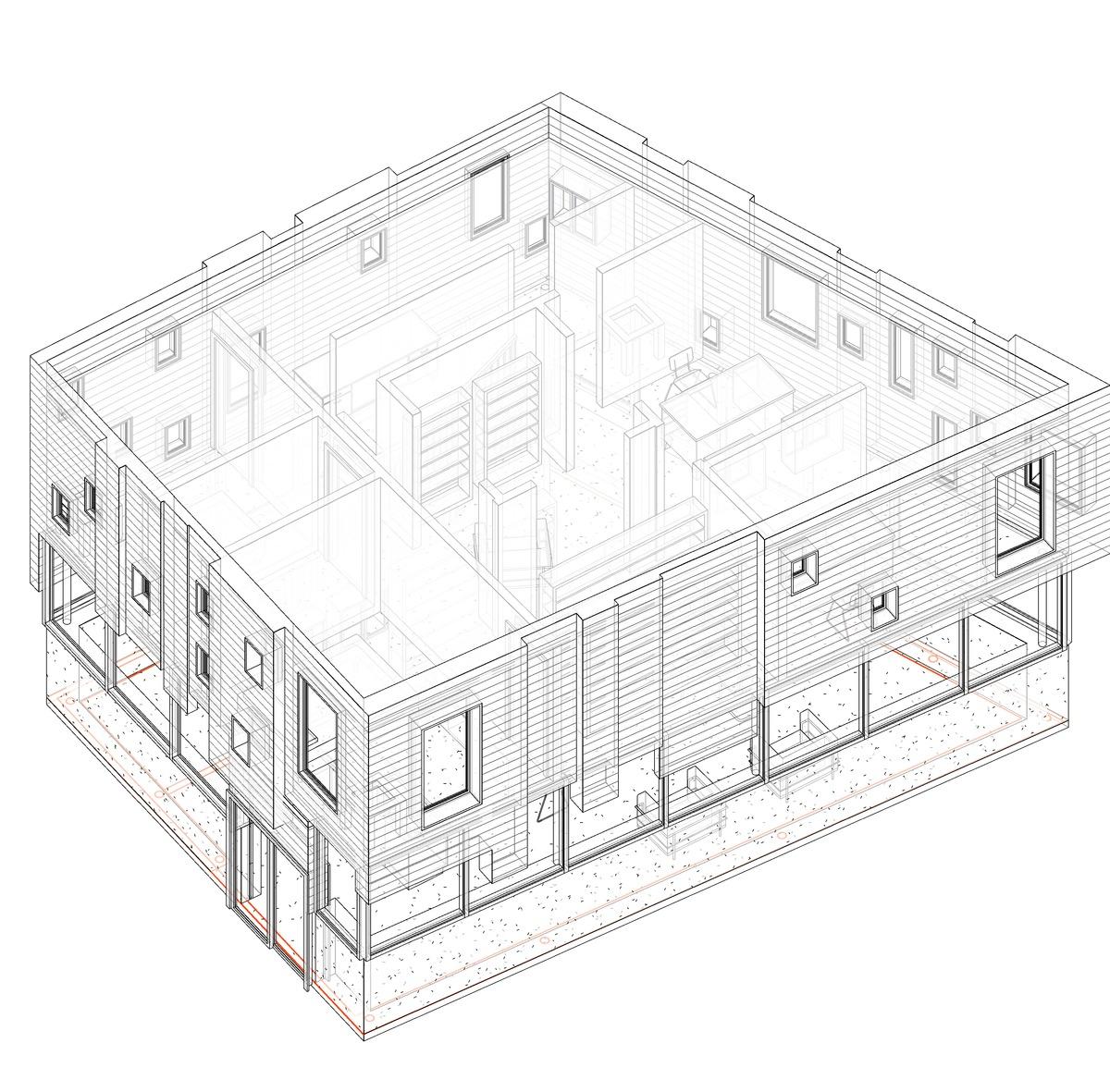 Pixel Housing