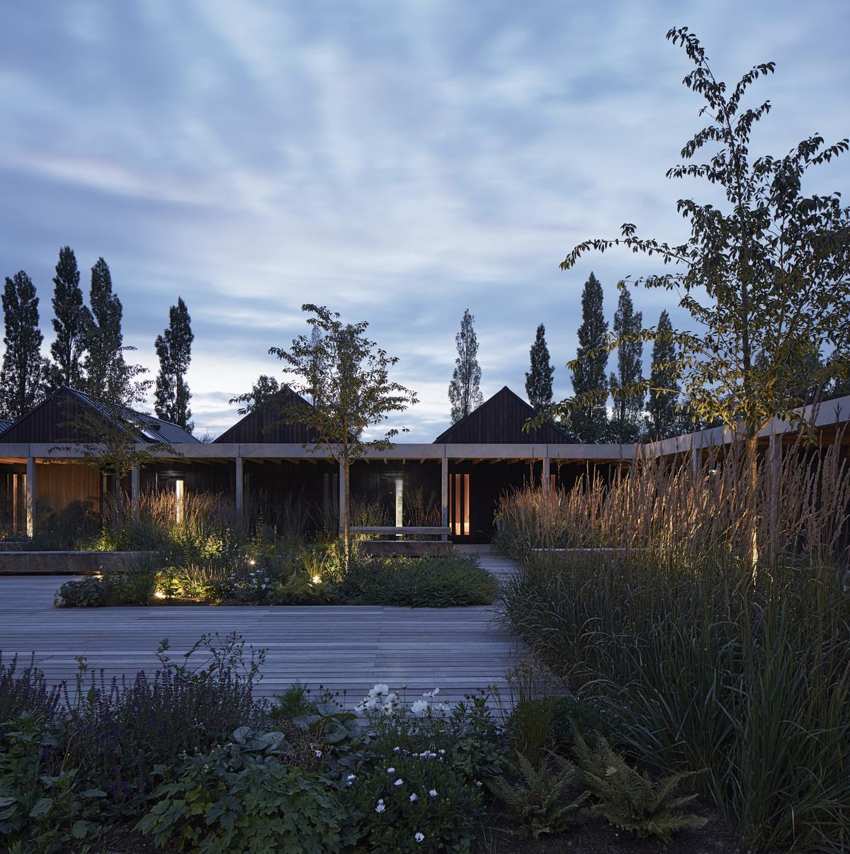 Vajrasana Buddhist Retreat Centre, Photo by Dennis Gilbert