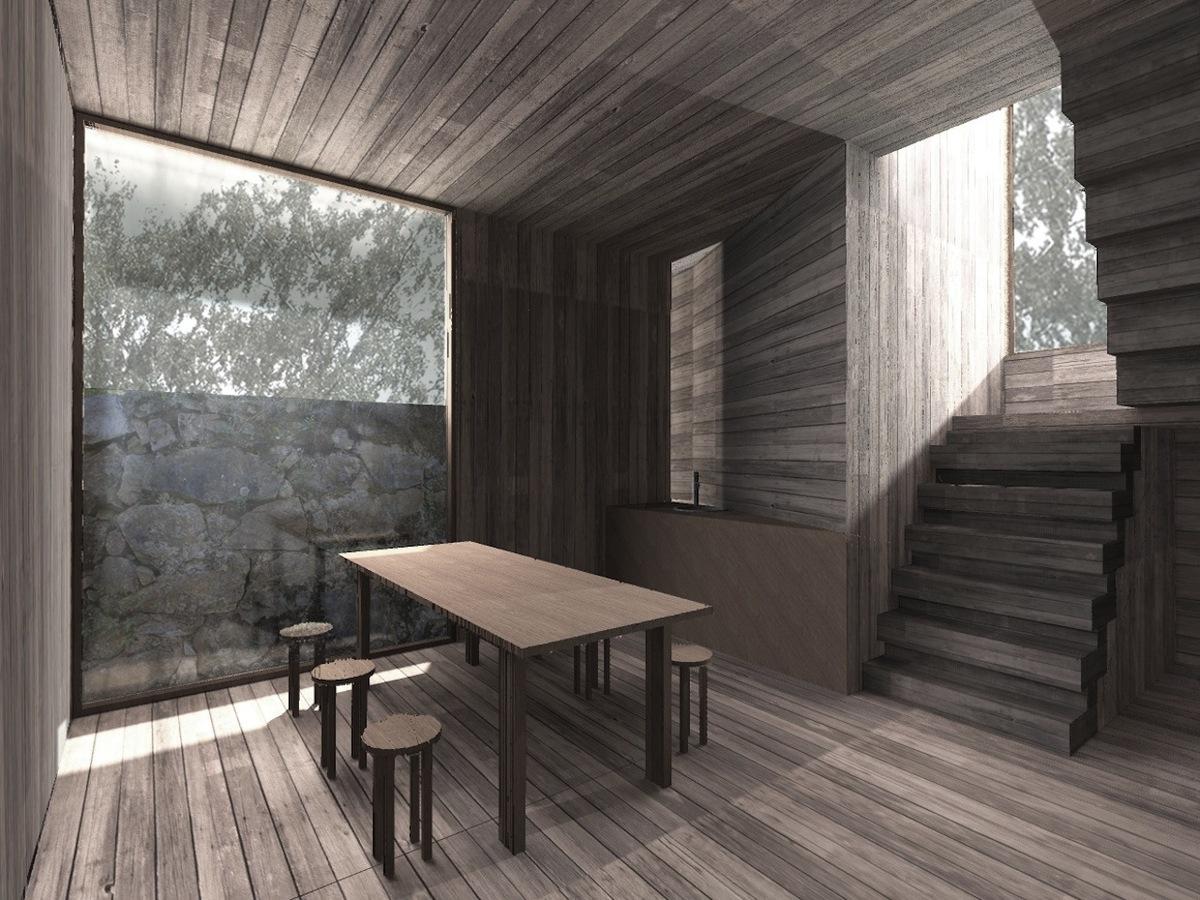 Museum / Workshop Watermill interior