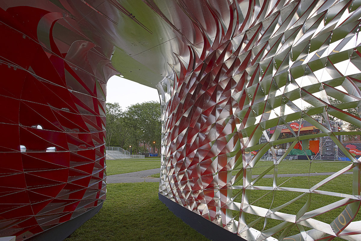 Assembly One Pavilion in New Haven, CT by FreelandBuck