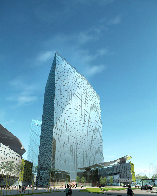 China Charcoal Resort Hotel and Corporate Headquarters masterplan, Zhuhai, China / Cordogan Clark & Associates