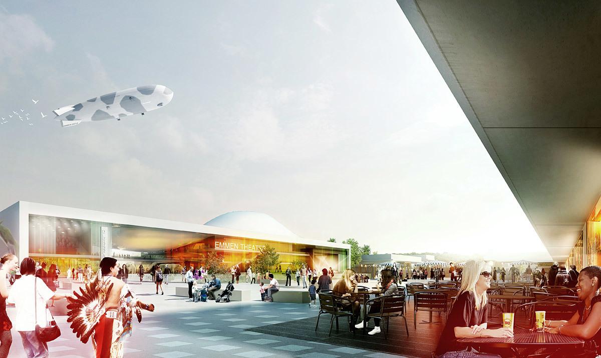 Front plaza (Image: Henning Larsen Architects and Van den Berg Groep)