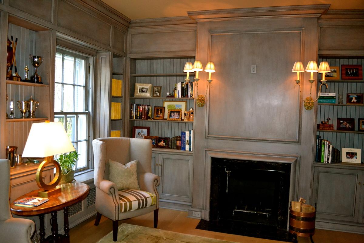 Study Fireplace