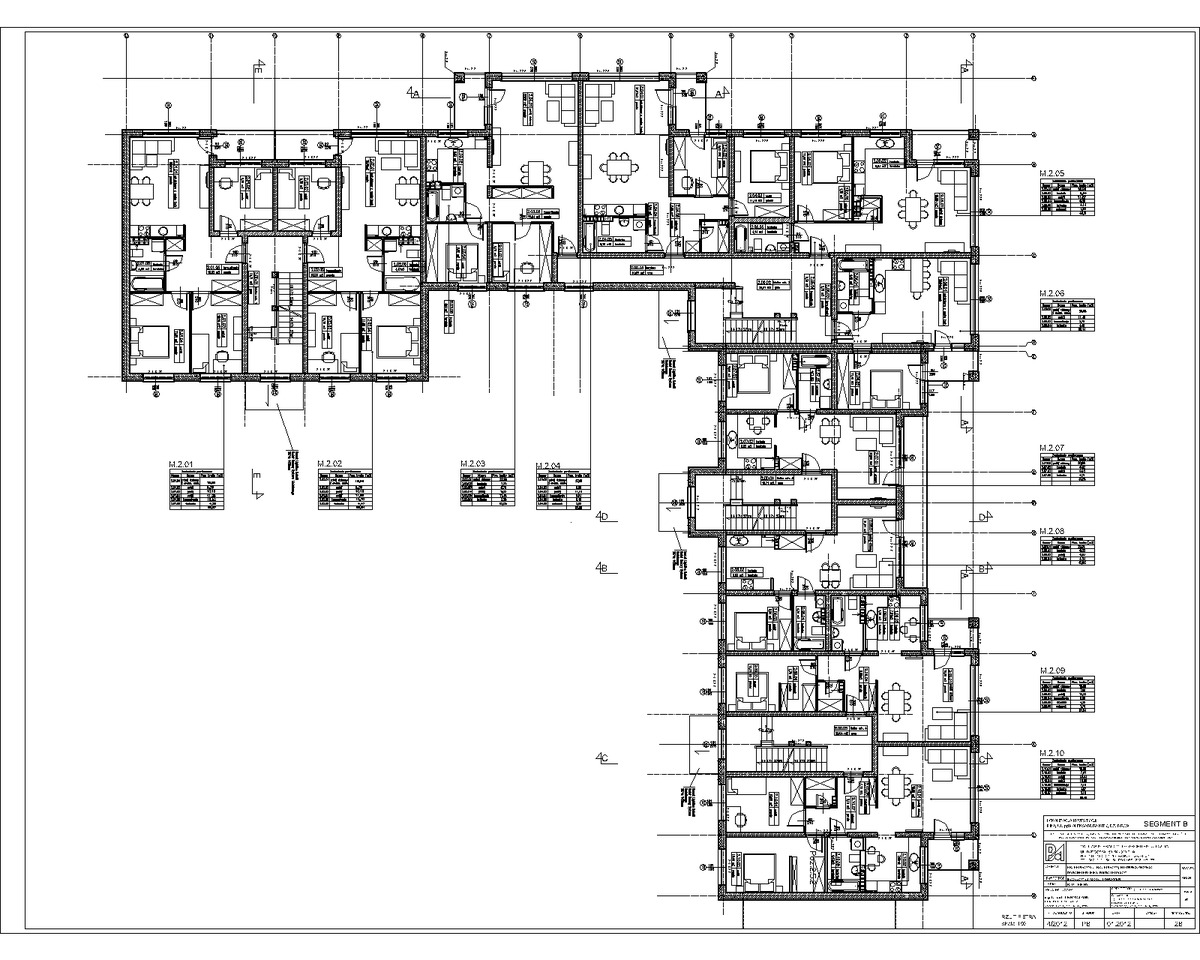 Multi apartment building pila pl ewa roclawski archinect for Apartment floor plan