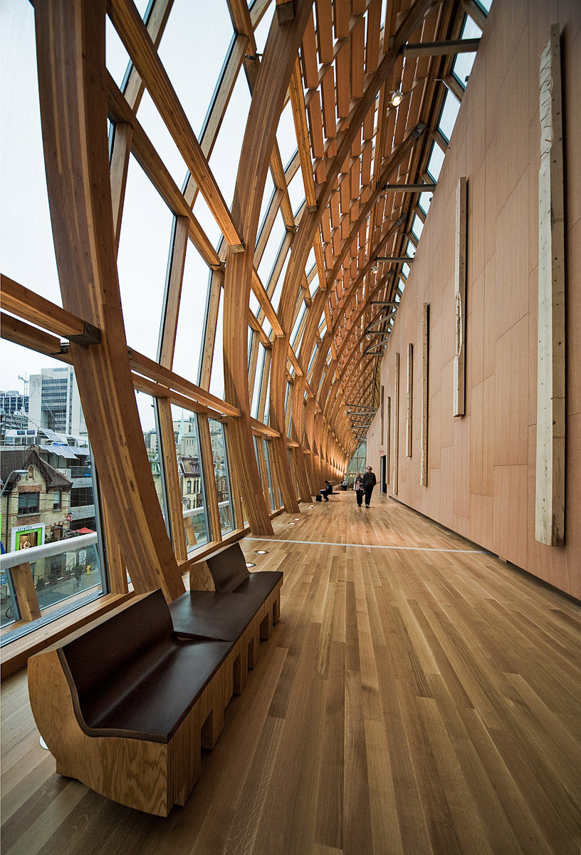 Galleria Italia by Gehry Partners at Art Gallery of Ontario (AGO), Toronto, ON © Sam Javanrouh