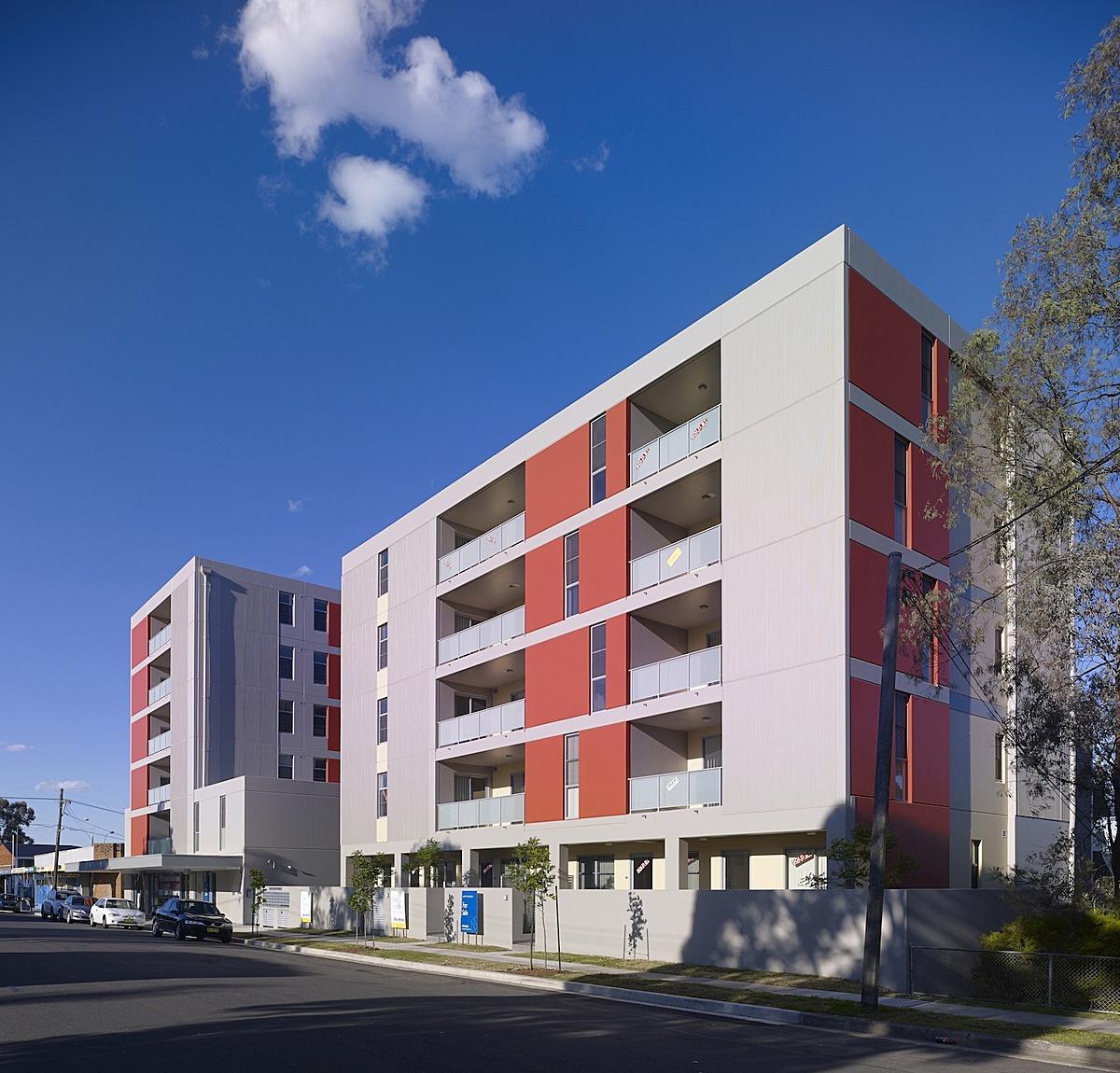 Modern elevation apartment joy studio design gallery for Contemporary apartment elevations