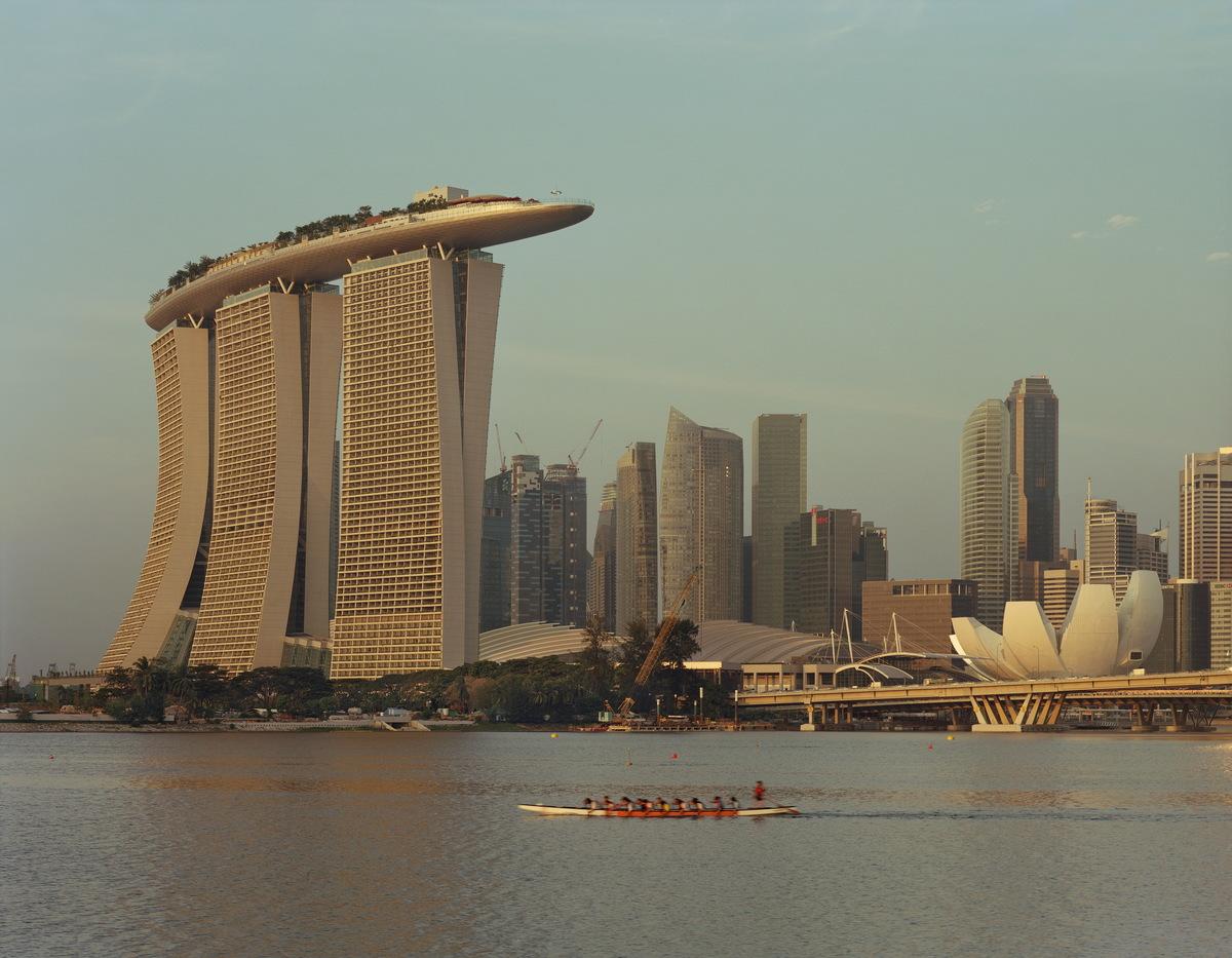 The Marina Bay Sands. Credit: Timothy Hursley courtesy of Safdie Architects