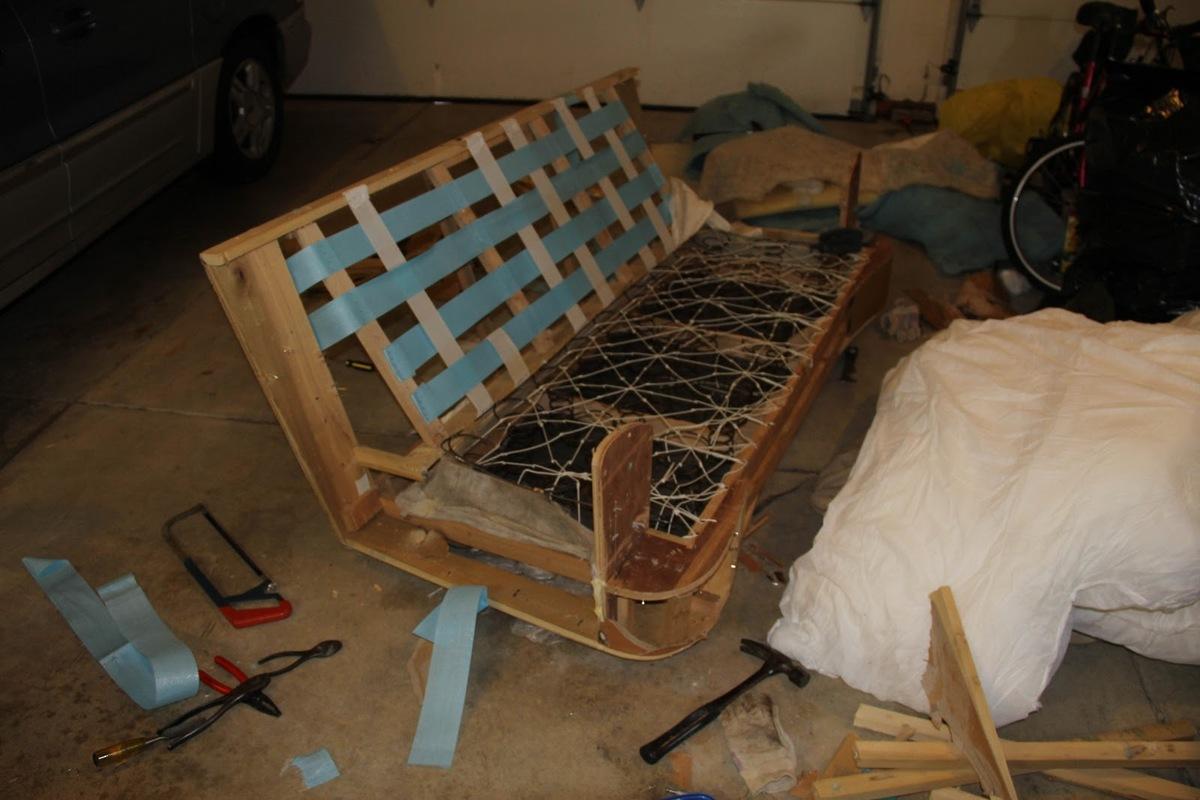 Beginning the deconstruction process