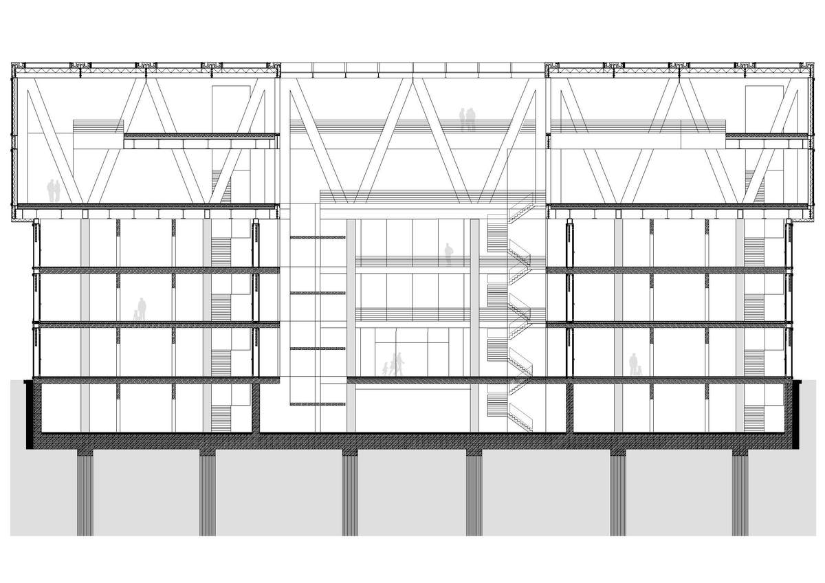 Cantilevered Structures Construction Structure Diploma Of Architecture Dipl Ing Paul