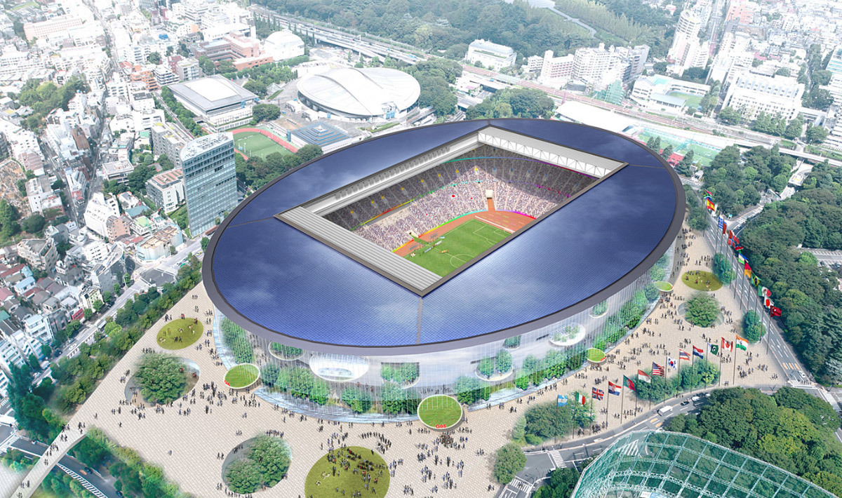 Toyo Ito & Associates, Architects (Image: Japan Sport Council)