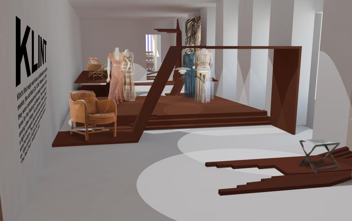render of exhibit room 1