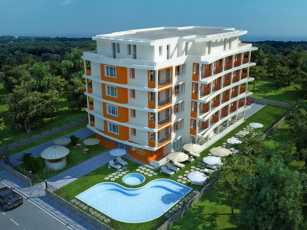 Complex of Holiday Apartments Abelia Residence - visualization