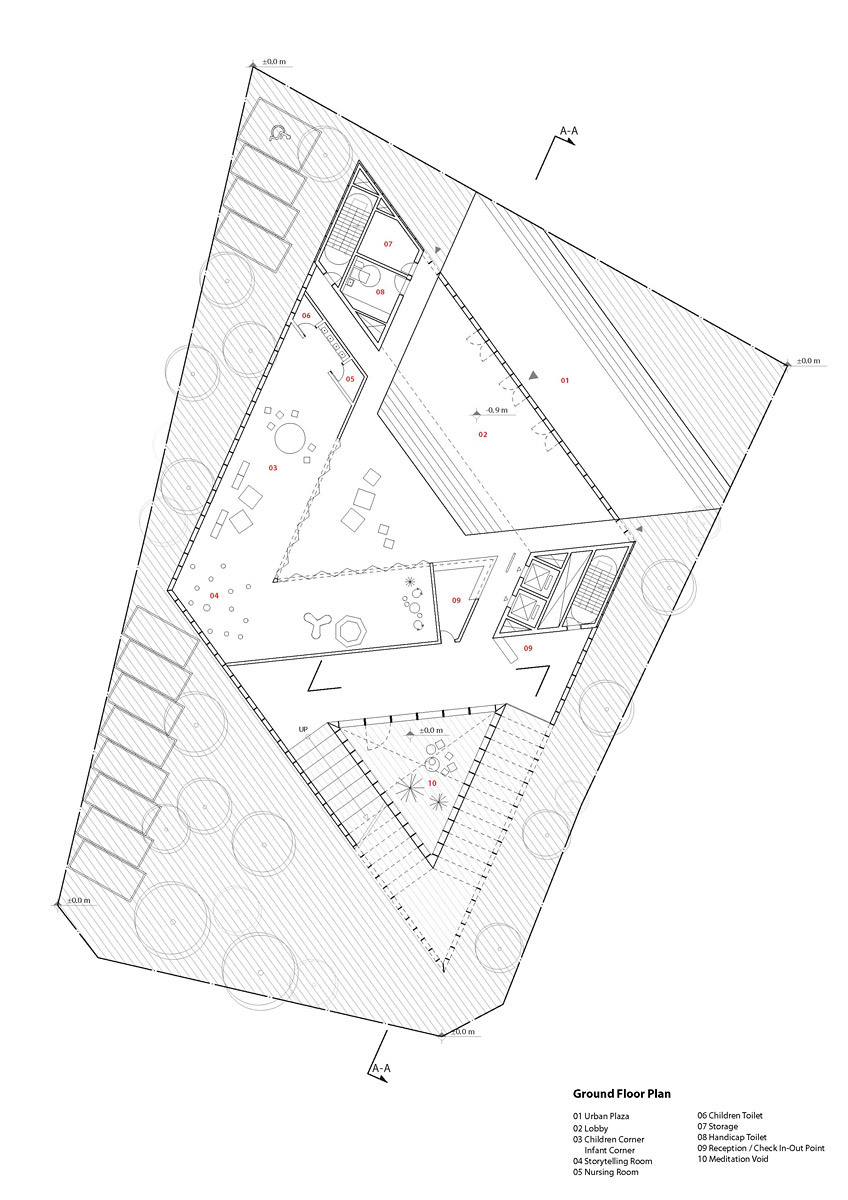 Floor plan - 00F (Image: studio SH)
