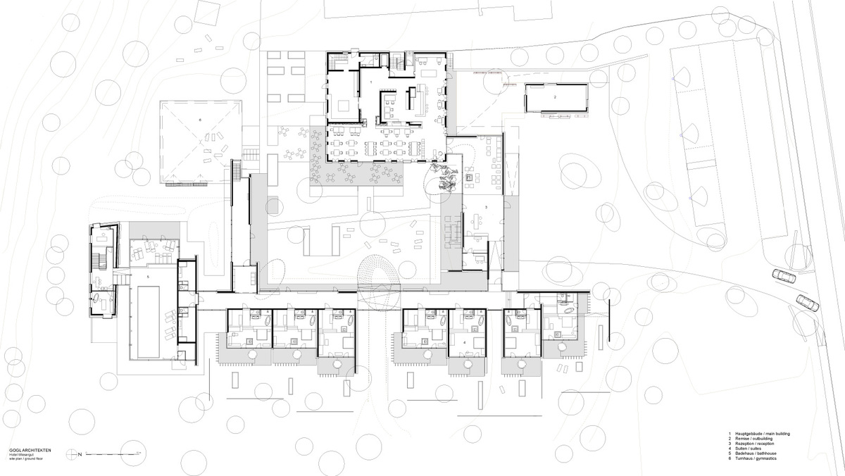 Ground floor plan (Image: GOGL ARCHITEKTEN)
