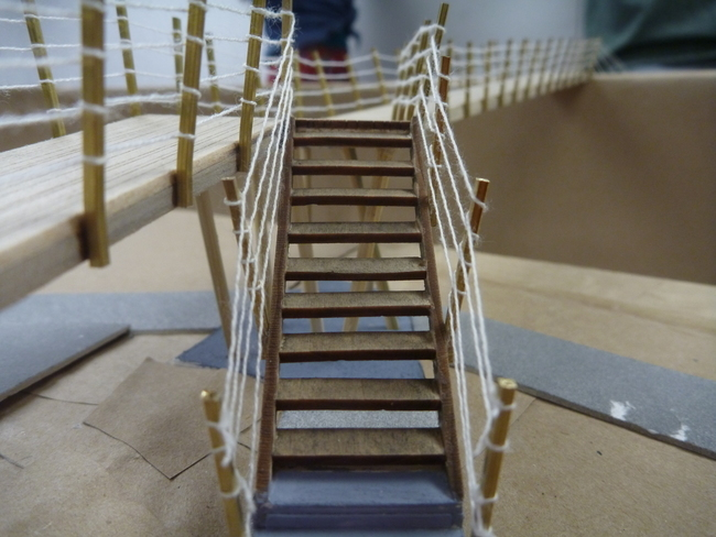 bridge for Clifton Forge Community at Amphitheatre site