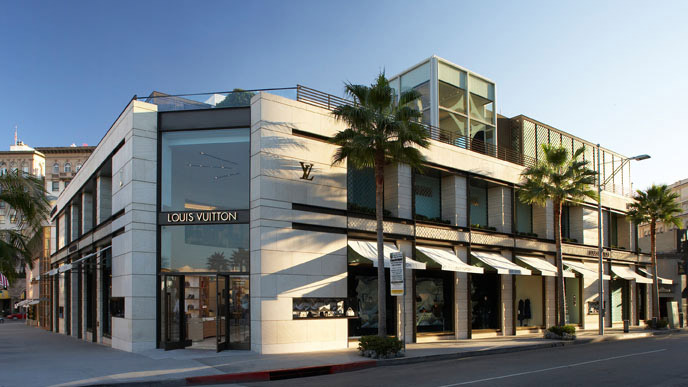 Clothing stores in beverly hills