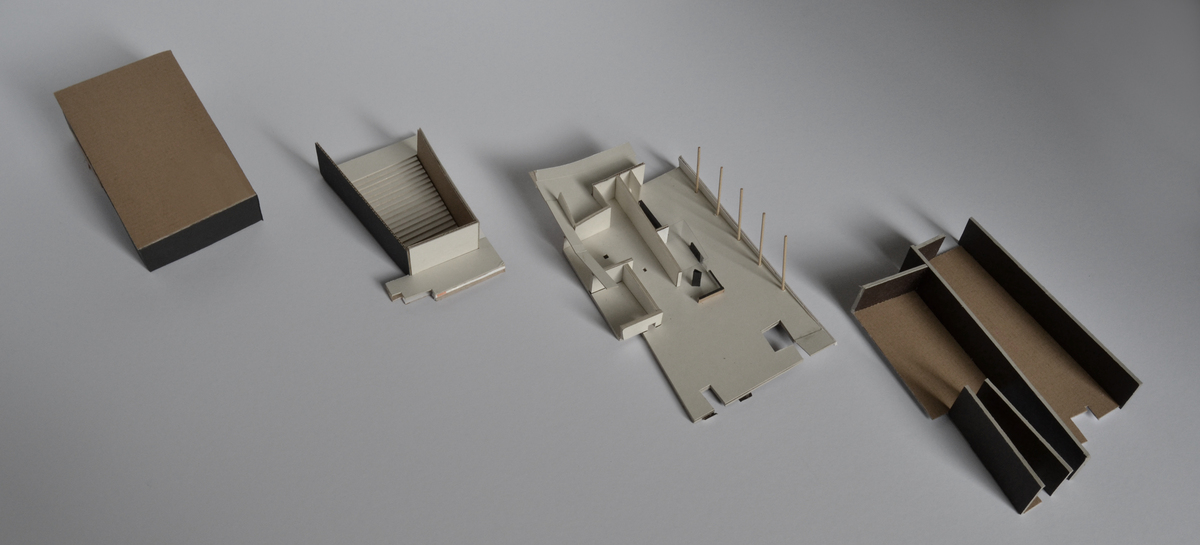 Maquette of the Auditorium (split in parts)