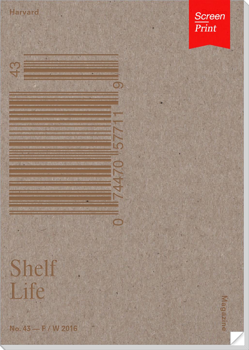 Harvard Design Magazines issue no. 43, Shelf Life.