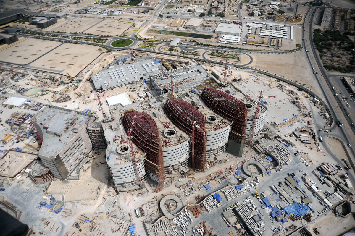 Sidra Medical and Research Centre: Aerial View