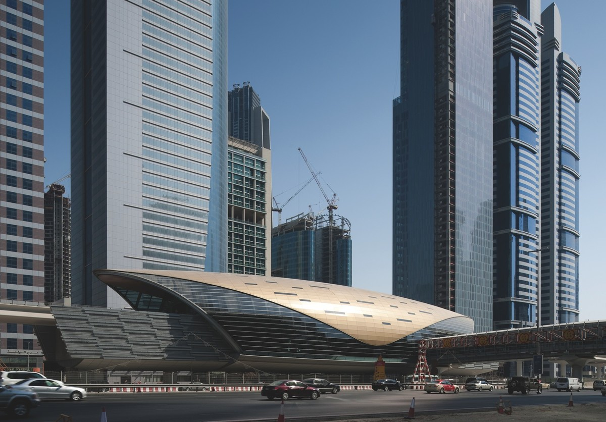 Dubai Metro, Dubai, UAE. Credit: Aedas.