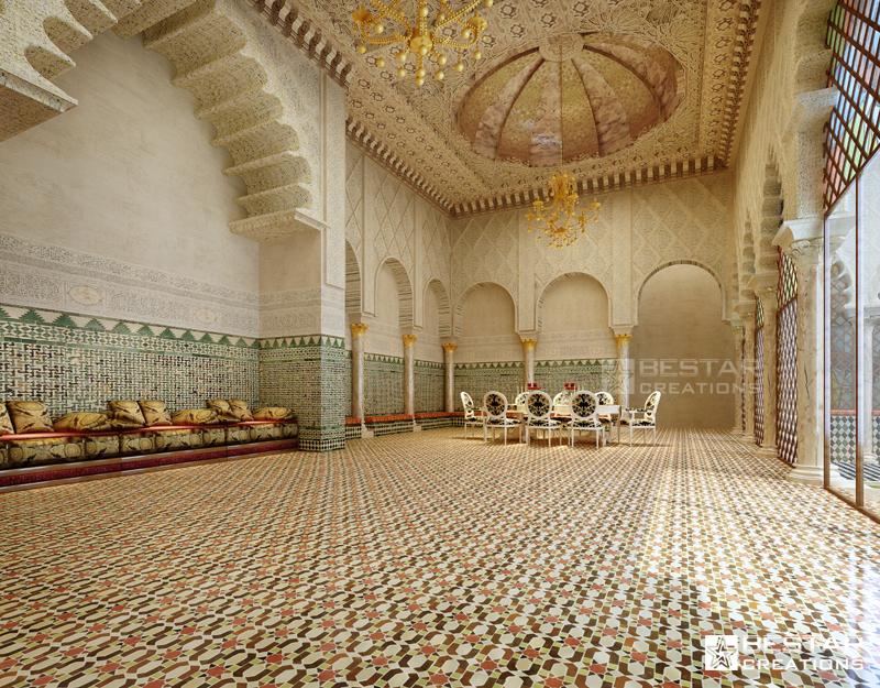 3D Interior Rendering by BestarCreations