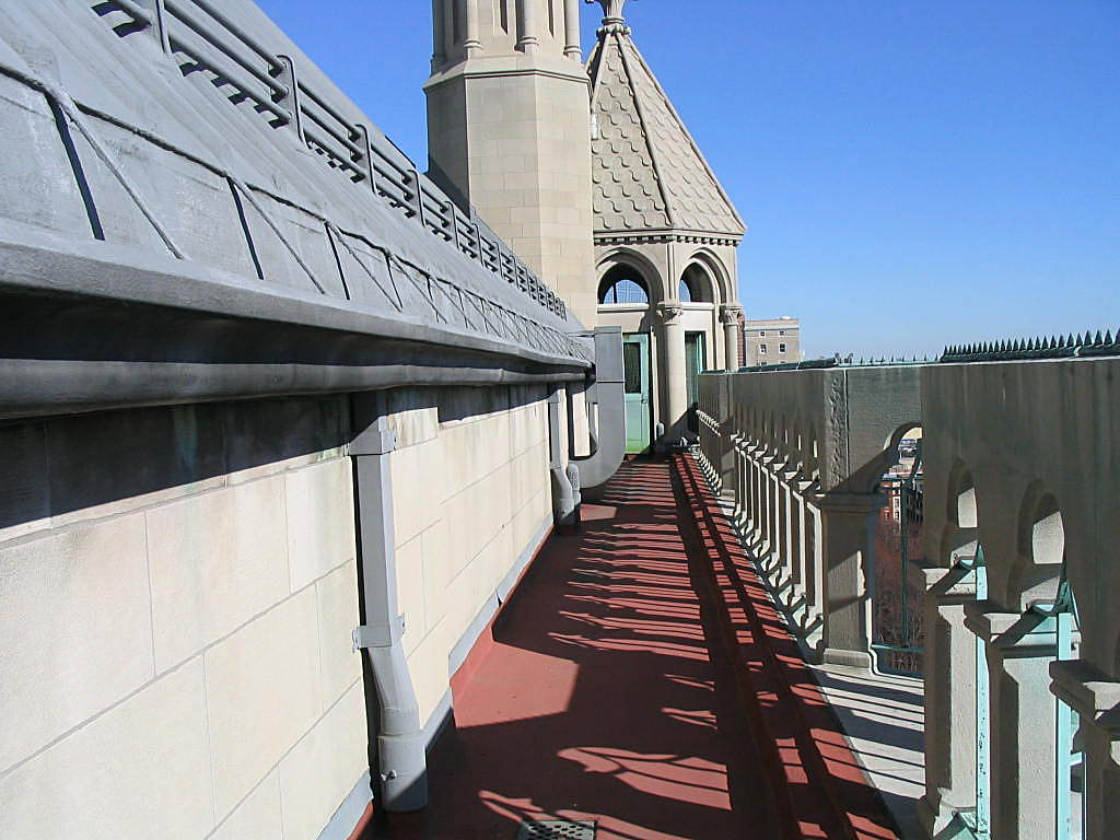 Riverside Church roof