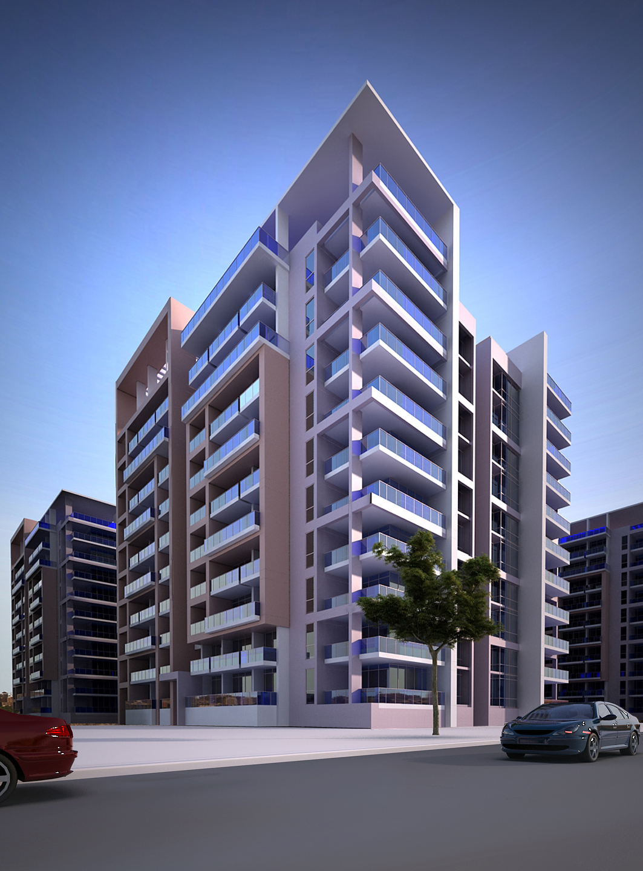 high-rise apartment building