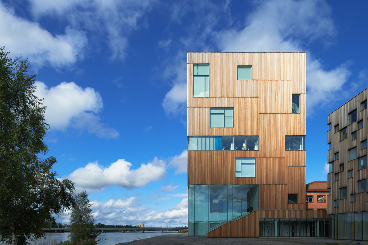 Exterior of the newly opened Umeå Art Museum designed by Henning Larsen Architects (Photo: Åke E:son Lindman)