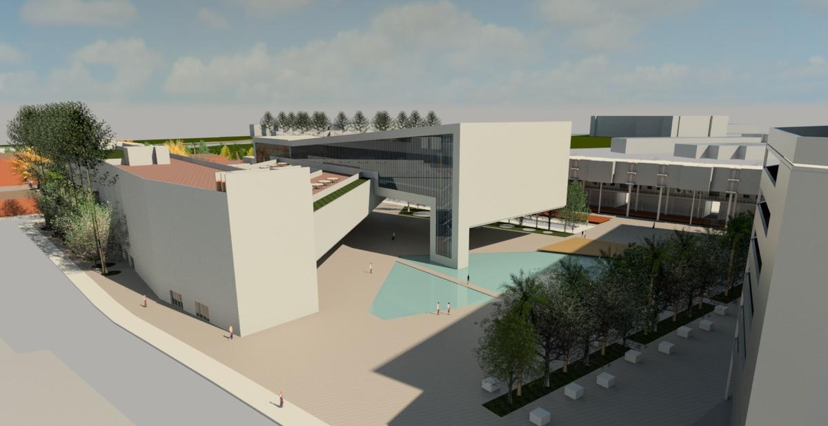 Midiateca do gas metro bruno reis archinect for Architecture firms that use revit