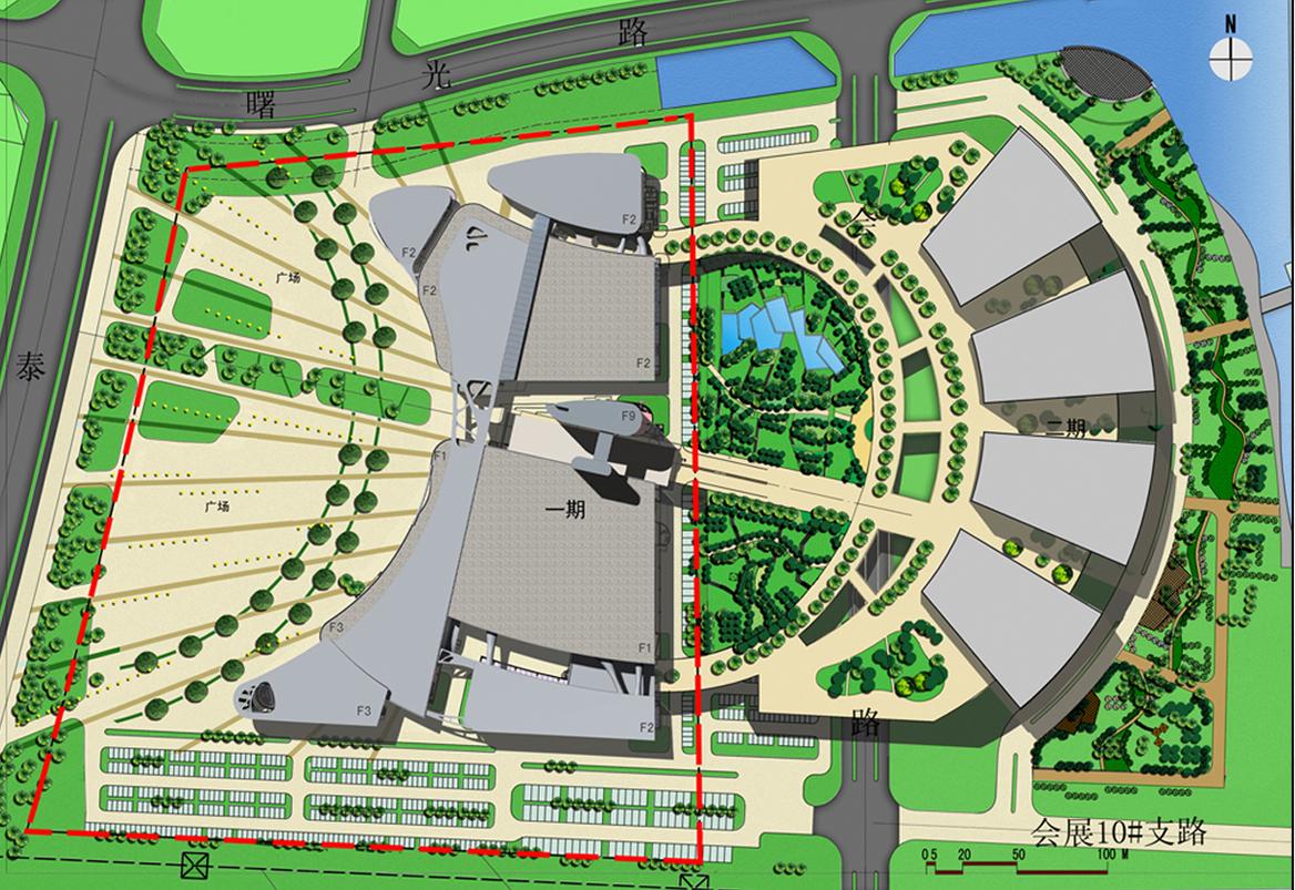 Taizhou Medical City Convention Center Futurepolis Archinect