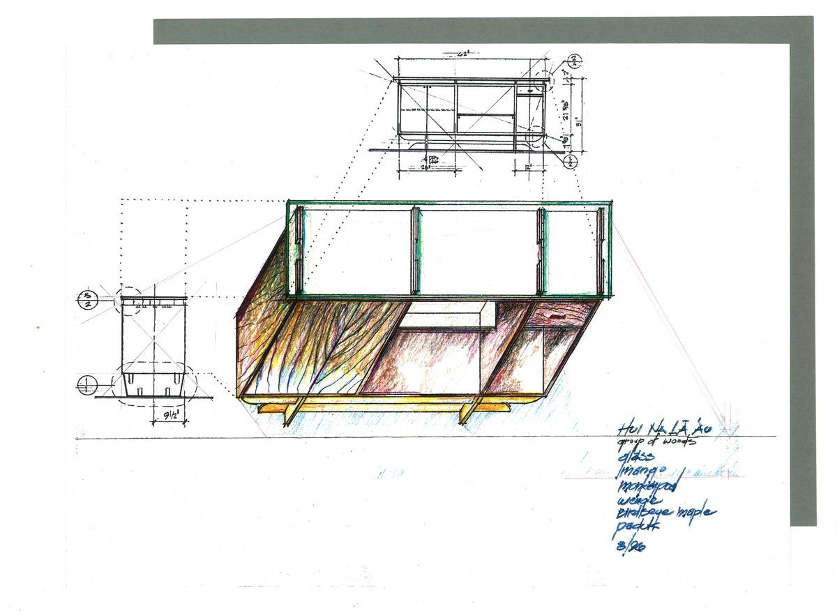 Hui cabinet rendering