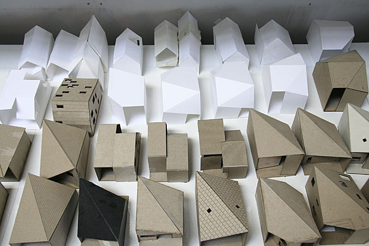 Sketch models, R-House