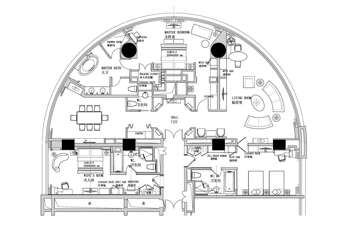 Howard johnson hotel napong kulangkul archinect Weird floor plans